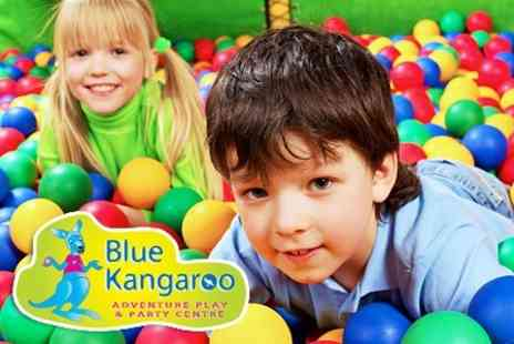 Blue Kangaroo - Soft Play Five Passes and One Meal For One Child Including Adult Entry - Save 59%