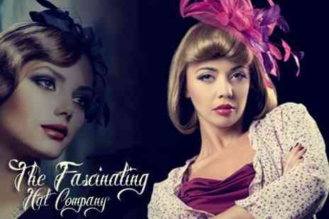 The Fascinating Hat Company - Three Hour Fascinator Making Workshop - Save 29%