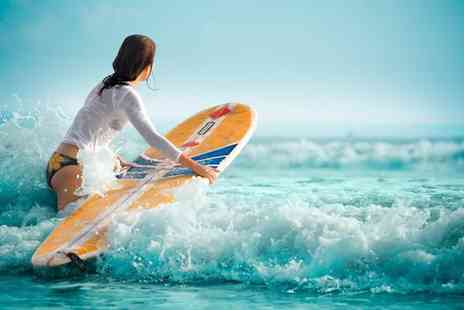 Cresseys Surf - Two hour surfing lesson - Save 53%