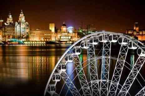 Wheels Entertainment - Wheel of Liverpool Two Adult Tickets - Save 65%