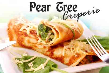 Pear Tree Creperie - Pear Tree Creperie  Savoury Galette Plus Crepe   - Save 58%