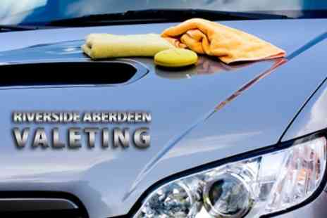 Riverside Aberdeen Valeting - Full Car Valet With Wash  Interior Clean and Polish - Save 20%