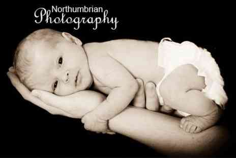 Northumbrian Photography - Photoshoot Bump and Baby Sessions With Framed Prints - Save 87%