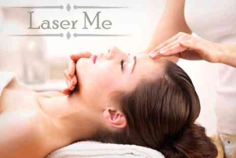 Laser Me - Choice of Massage and Reflexology or Reiki Plus Decleor Hand Massage - Save 65%