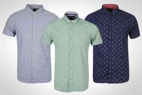 Zavvi.com - Bravesoul Mens Shirt in Choice of Designs and Sizes - Save 40%
