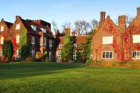 Mercure Letchworth Hall Hotel - Hertfordshire 17th Century Manor Stay with Dinner & Wine - Save 40%