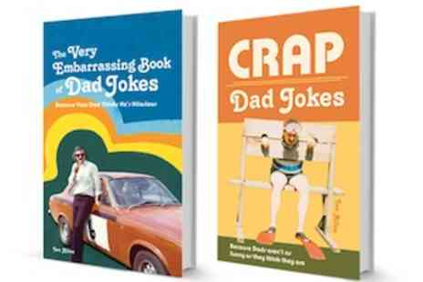 Anova Books -  Hilariously Funny Dad Joke Books For Fathers Day - Save 50%
