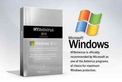My Security Center - MYAntivirus programme plus MYPC Clean up & Optimisation service - Save 89%