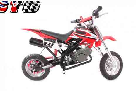 STO Racing Products - 49cc Off Road Mini Motocross Bike - Save 48%