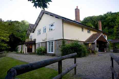 Lyncombe Lodge Hotel -  Two night Mendip countryside escape - Save 57%