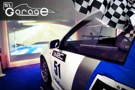 Garage51s - Driving Simulator F1 Style or Rally Experience for Two - Save 62%