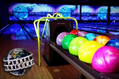 Planet Leisure - Ten Pin Bowling Two Games Soft Drink - Save 54%