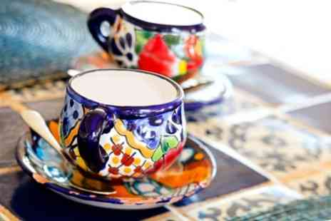 Cheshire Craft Workshop - Pottery Cup Painting  With Tea and Biscuits - Save 95%