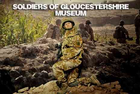 Soldiers of Gloucestershire Museum - Entry for Adult and Child or Two Adults - Save 58%