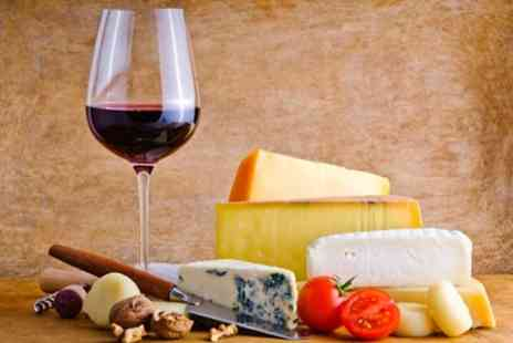 The Old Steps Bar - Cheese and Meat Platter With Bottle of Wine - Save 50%