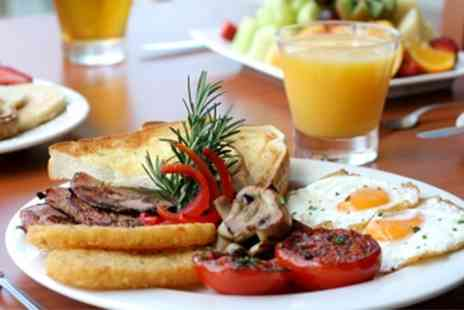 Bistro on the Beach - Full English Breakfast For Two With Drink - Save 30%