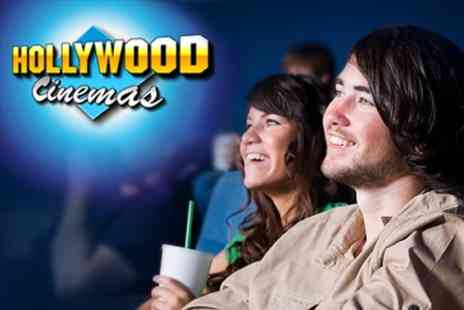 Hollywood Cinema - Movie Ticket With Popcorn and Drink Each For Two - Save 50%