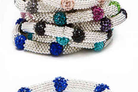 Kurt Muller - Crystal Bracelet in Choice of Nine Designs - Save 64%
