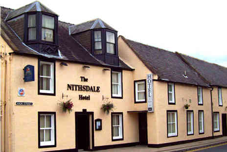 The Nithsdale Hotel - 2 Nights for 2 including breakfast & 3 course dinner - Save 42%