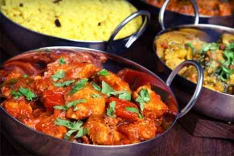 Monsoon - Two Course Indian Meal With Side and Rice For Two Monsoon Contemporary Indian Cuisine - Save 61%