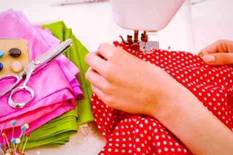 The Creative Sewing Studio - Three Hour Sewing Machine Course - Save 62%