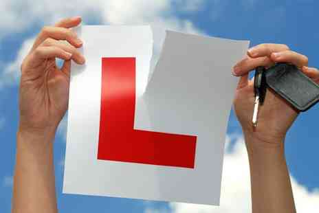 In the Right Lane - Learn to drive with three 60 minute driving lessons - Save 82%