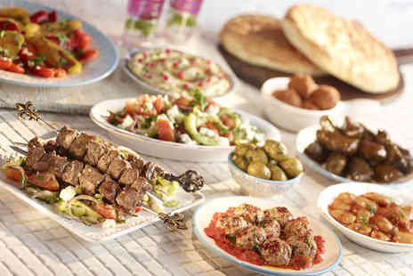 Dalyan Turkish Restaurant - 3 Course Turkish meal for 2 - Save 65%