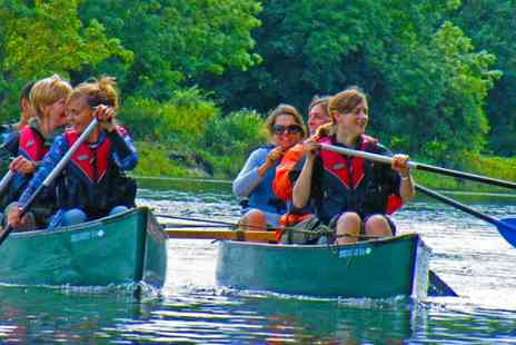 Back of Beyond Adventures - Canoeing Trip on the Thames - Save 65%