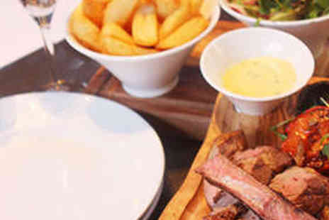 Old Down Bistro - Cote de Boeuf Sharing Board with Prosecco for Two - Save 51%
