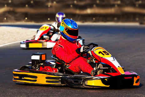 Ace Karting - 30 indoor go karting laps for 60 laps - Save 60%