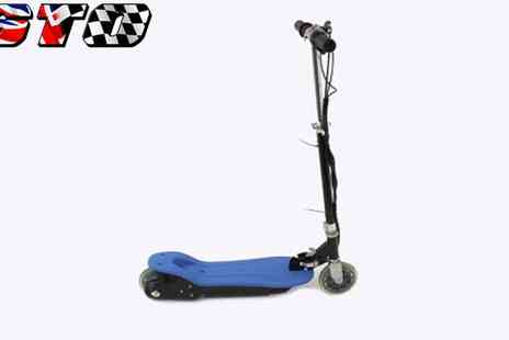 STO Racing Products - Electric Scooter 120W Blue - Save 65%