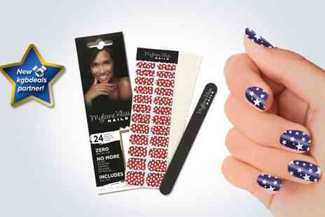 BioEnergiser - Five packs of Myleene Klass nail wraps - Save 83%