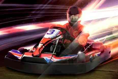 F1K Indoor Karting East London - Go Karting 50 Lap Indoor Race - Save 56%