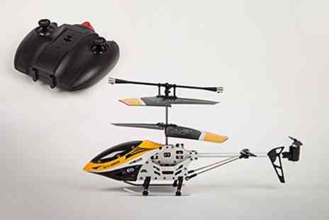 Ebuyer.com - Mini RC Helicopter With Gyro Alloy Frame  - Save 48%