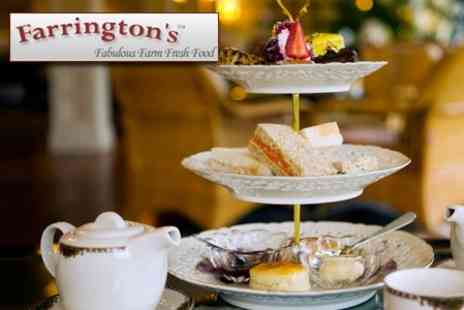 Farrington�s Farm Shop - Summer Afternoon Tea for Two Adults - Save 62%