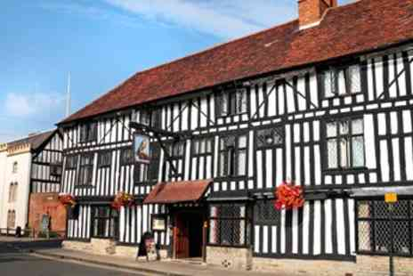 Legacy Falcon Hotel - £99 -- Old World Warwickshire Stay with dinner - Save 60%