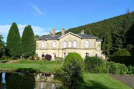 Hackness Grange Hotel - Two night Scarborough break for two with full English breakfasts - Save 53%