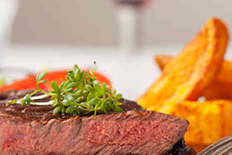 No.19 Restaurantl - Steak Meal for Two with Wine - Save 57%