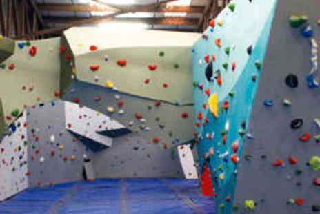 The Climbing Hangar - Full Day of Bouldering with Induction - Save 67%