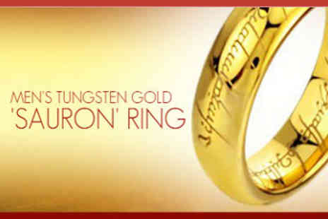ChainzJewellery.com - Lord of The Rings Replica Saurons Ring - Save 78%
