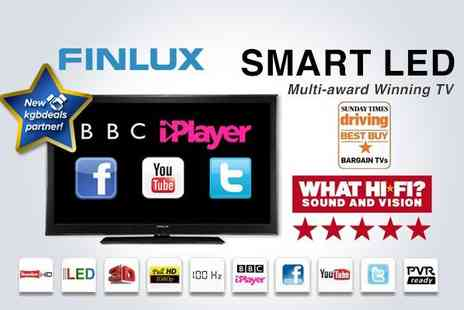 Finlux Direct - Finlux 32F8030 T 32 Smart LED HD TV with built in Freeview and PVR recording  - Save 50%