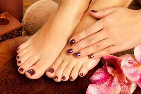 Asase Spa - OPI Gel Manicure and Pedicure - Save 51%
