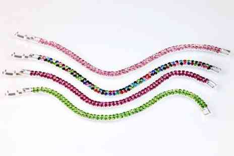 Victorias Candy - Friendship Bracelet With swaroski elements - Save 70%