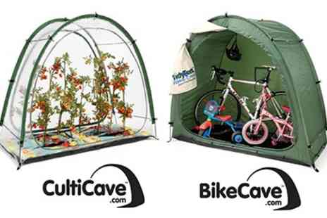 Rob McAlister - Pop Up Greenhouse and Garden or Bike Storage Unit - Save 40%