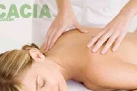 Acacia Beauty Academy - Certificated Course in Massage or Facials and Skincare - Save 63%