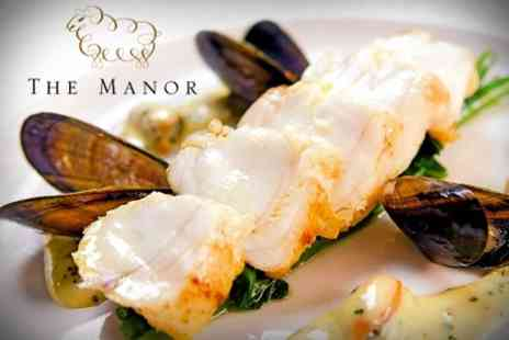 The Manor - Five Course Tasting Menu For Two - Save 34%