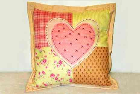 Totally Patched - Cushion Making Sewing Course - Save 33%