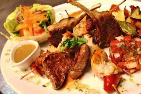 Mezzaluna - Three Course Meal For Two - Save 47%