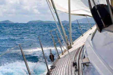 Escape Yachting - Sailing Experience with Two-Course Meal and Bubbly - Save 84%