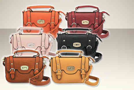 Style Potential - Mini satchel in a choice of 6 colours - Save 60%
